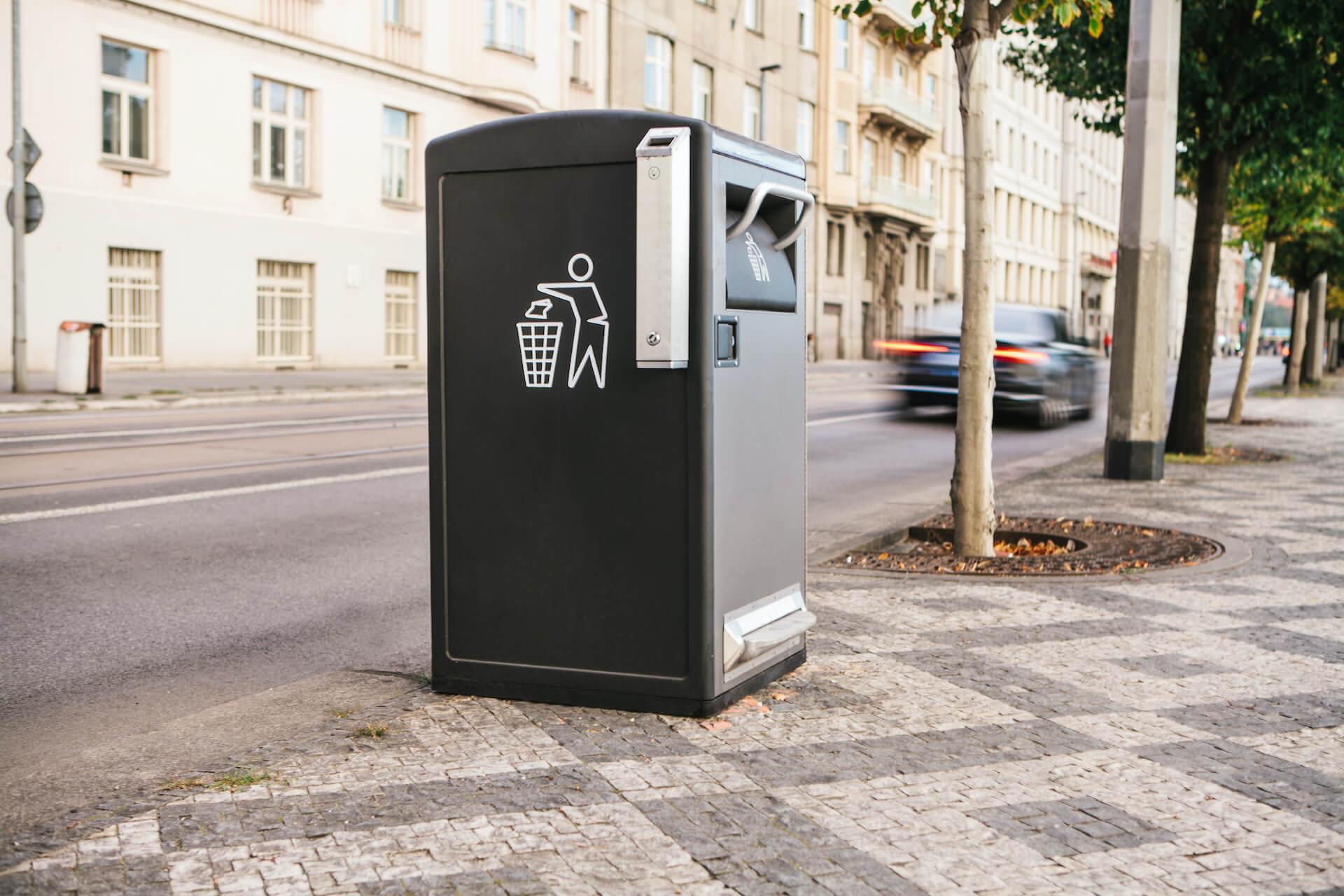 Antrag: Smarte Mülleimer für Pforzheim